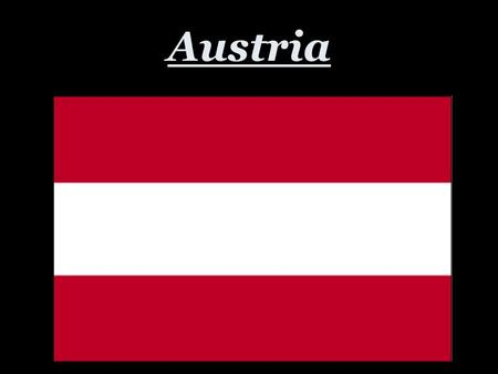 Austria. Map of Austria Vienna/ Wein German is the language spoken. The Euro is their currency. 1 Euro = $1.17 US.