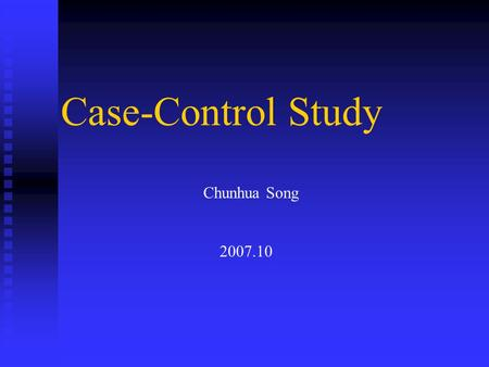 Case study for sheng song