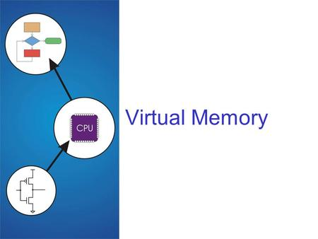 Virtual Memory. 2 Virtual memory Build new hardware that automatically translates each memory reference from a virtual address (that the programmer sees.