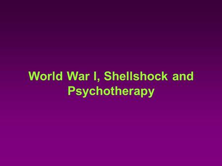 World War I, Shellshock and Psychotherapy. Hysterical Muscular Paralysis from War Neuroses 1918 film.