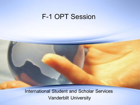 International Student and Scholar Services Vanderbilt University