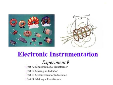 Experiment 9 Part A: Simulation of a Transformer