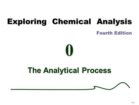 Exploring Chemical Analysis Fourth Edition