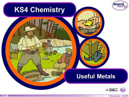 KS4 Chemistry Useful Metals.