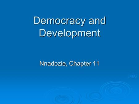 elections bourgeois democracy and development Full-text paper (pdf): capitalist development & democracy  capitalism and  democracy or by the role of the bourgeoisie as the agent of democratic reform   economic development and democracy: an electoral connection: economic.