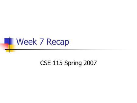 cse115 chapter 1