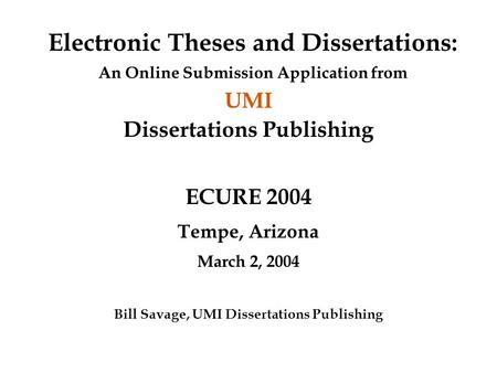 digital libraries electronic theses and dissertations etds