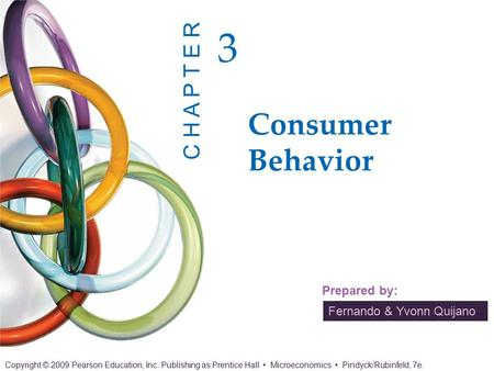 CHAPTER 3 OUTLINE 3.1	Consumer Preferences 3.2	Budget Constraints 3.3	Consumer Choice 3.4	Revealed Preference 3.5	Marginal Utility and Consumer Choice.