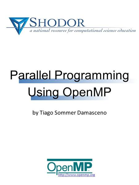Parallel Programming by Tiago Sommer Damasceno Using OpenMP