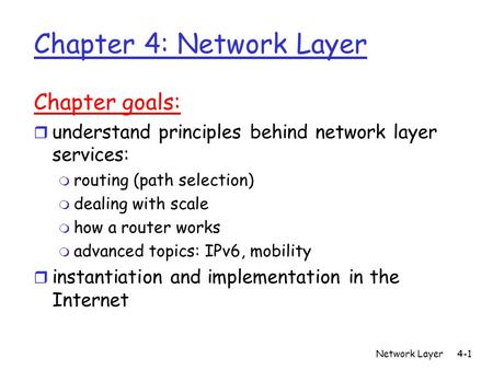 lan principles networks and routing