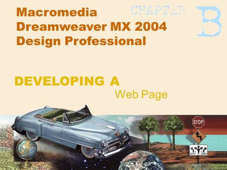 Macromedia Dreamweaver MX 2004 Design Professional Web Page DEVELOPING A.