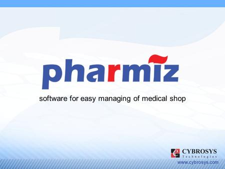 Www.cybrosys.com software for easy managing of medical shop.