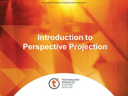 Introduction to Perspective Projection. Perspective Projection is a geometric technique used to produce a three- dimensional graphic image on a plane,