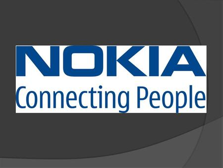  What is Nokia?  Where is it located?  History  Nokia in 2006  Business Groups.