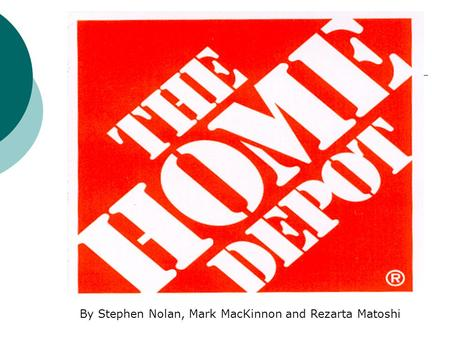 home depot s blueprint for culture change case study Home depot's blueprint for culture change explain what led to an unsuccessful outcome at home depot analyze the home depot scenario utilizing the four-frame model (ie, structure case study coursework term paper personal statement.