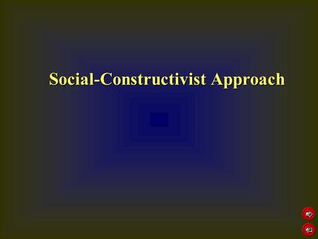 Social-Constructivist Approach. learning is claimed to be achieved by sharing, discussing and critically reviewing own and others ideas/products learning.