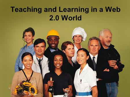 Teaching and Learning in a Web 2.0 World. Review Review of Session 1  Overview of Institute  Define Web 2.0  Introduction to Web 2.0 Tools  HCC Technology.