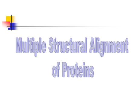 Agenda A brief introduction The MASS algorithm The pairwise case Extension to the multiple case Experimental results.