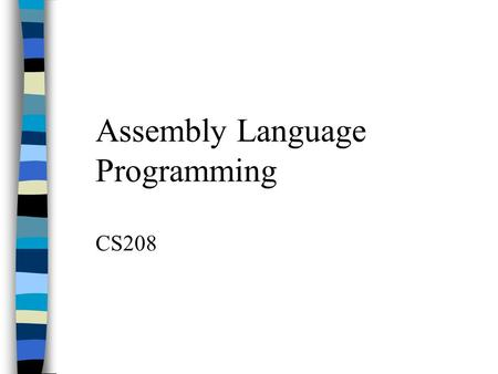 relationship between machine language and assembly registers