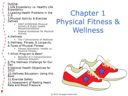Chapter 1 Physical Fitness & Wellness