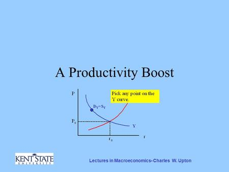 Lectures in Macroeconomics- Charles W. Upton A Productivity Boost.