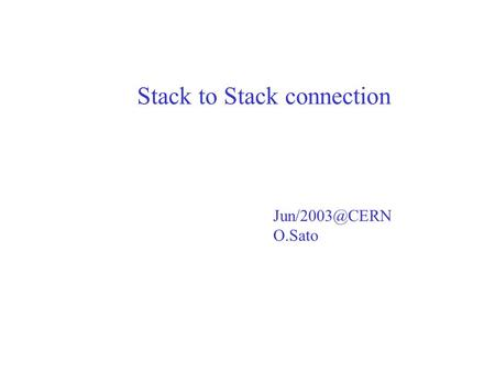 Stack to Stack connection O.Sato. Motivation Emulsion coordinate aligned to TT coordinate by Komatsu :: CTransEmulToTT(*); Emulsion tracks.