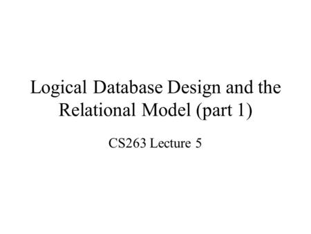 logical design part 1 Logic design i covers the principles and practices for combinational circuit  design  in the practices section, we introduce the verilog hdl and  combinational.