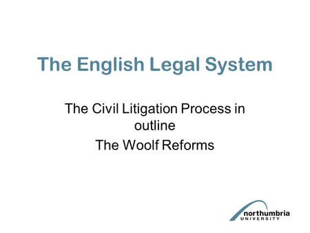 the problems of civil litigation