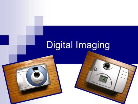 "Digital Imaging. What Is A Digital Image? A digital image is an array of numbers laid out in a grid. Each array element is known as a ""pixel"" or picture."