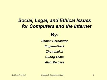 the internet and ethical problems to What ethical and methodological issues are specific to online interviews  most  young internet users in sweden are members of at least one net community.