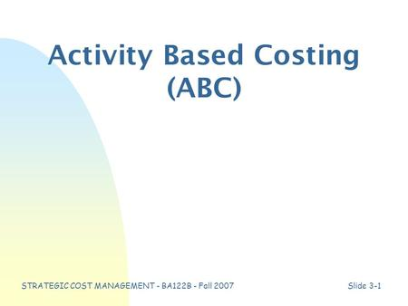 "target costing life cycle costing systems Target costing as a strategic  costing is applicable only early in the product life cycle  manufacturing firms implement target costing systems""."