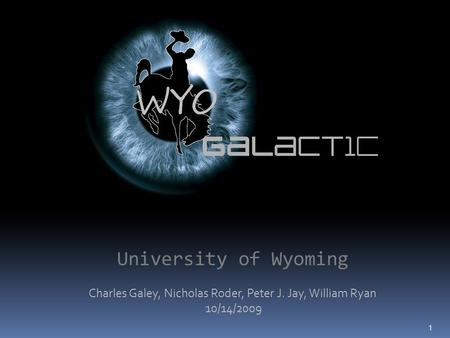 university of wyoming dating An act to establish the fossil butte national monument in the state of wyoming, and for other purposes secondary sources grande, lance paleontology of the green river formation, with a review of the fish fauna cheyenne, wyo: the geological survey of wyoming, 1980, 3-15 182-185 273-275 national park service, u s department of the interior.