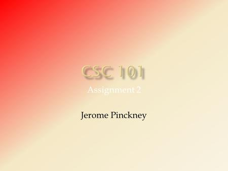Assignment 2 Jerome Pinckney.  A blog (a contraction of the term  Web log ) is a Web site, usually maintained by an individual [1], with regular entries.