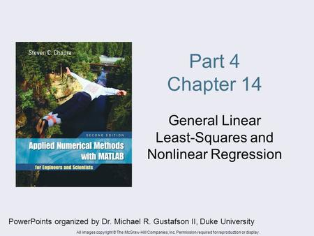 General Linear Least-Squares and Nonlinear Regression