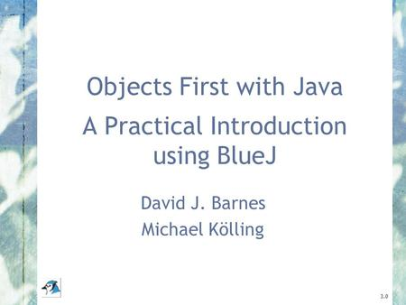 Objects First with Java A Practical Introduction using BlueJ