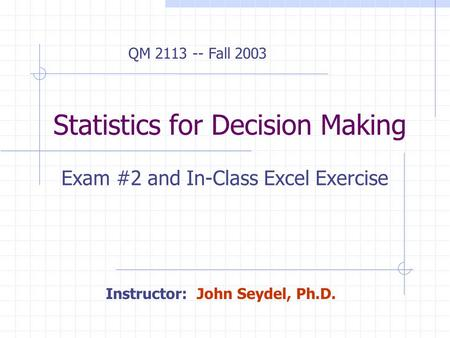 statistics and decision making in hrm Statistics in decision making and be made aware of the uses of statistical process control techniques and charts it is hoped that if more quality control managers are aware of the uses of.
