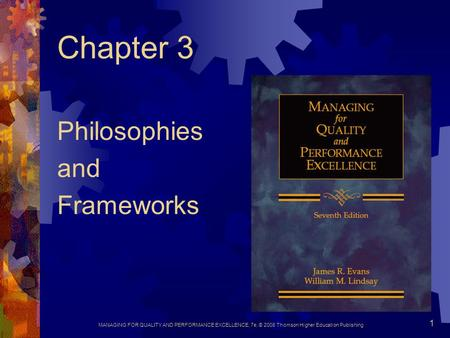 Philosophies and Frameworks