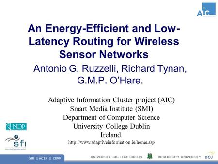 energy efficient routing in wireless sensor networks thesis Energy efficient routing protocols in wireless  keywords—wireless sensor network, routing  the network has to balance between energy consumption and data.