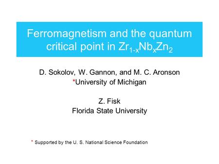 Ferromagnetism and the quantum critical point in Zr1-xNbxZn2