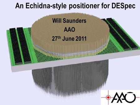 An Echidna-style positioner for DESpec