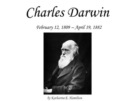 an overview of charles darwins theory of evolution