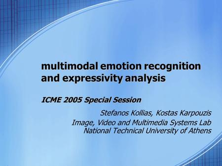 an introduction to the analysis of emotional expression Introduction to emotion edit visualeditor  emotions are physical expressions,  emotional energy comes from variously successful or failed chains of.