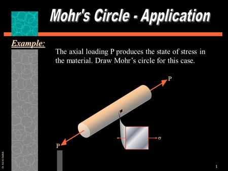 Mohr's Circle - Application