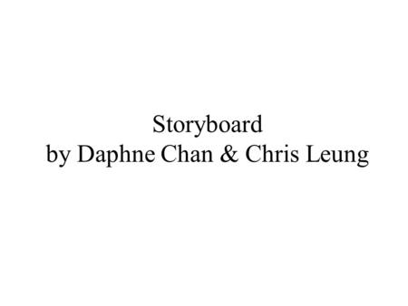 Storyboard by Daphne Chan & Chris Leung. Learn about occupations Frame 1.