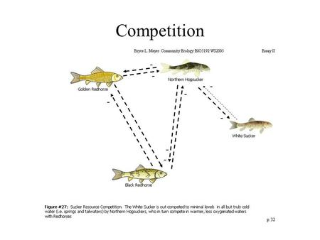 Competition. Competition is an interaction between individuals, brought about by a shared requirement for a resource in a limited supply, and leading.