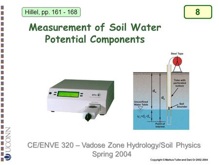 Measurement of Soil Water Potential Components