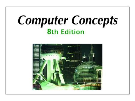 Chapter 3: Computer Software