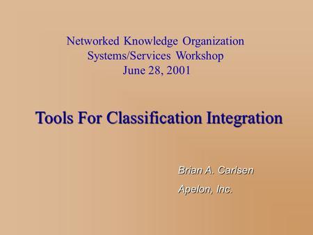 ontology merging thesis