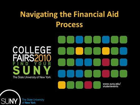 Navigating the Financial Aid Process. TOPICS 1.How much does college cost? 2.How and when to apply for financial aid 3.How is financial need determined?