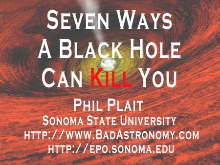Title Page. What is a Black Hole? Definition: a place where the escape velocity is faster than the speed of light.